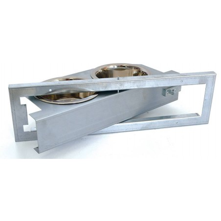 Feeder rotating plate 2 bowls - Benelux
