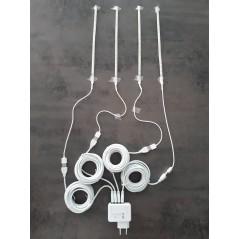Système d'éclairage USB 4 à bandes Leds - Plug and Play - Ornibird