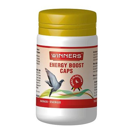 Energy Boost Caps, increases muscle performance 50 tablets - Winners
