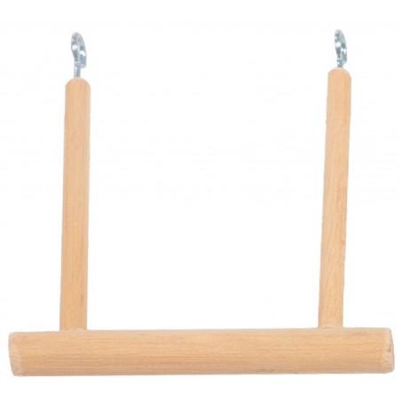 Balancoire en bois pour canaris 11,5x11,5cm