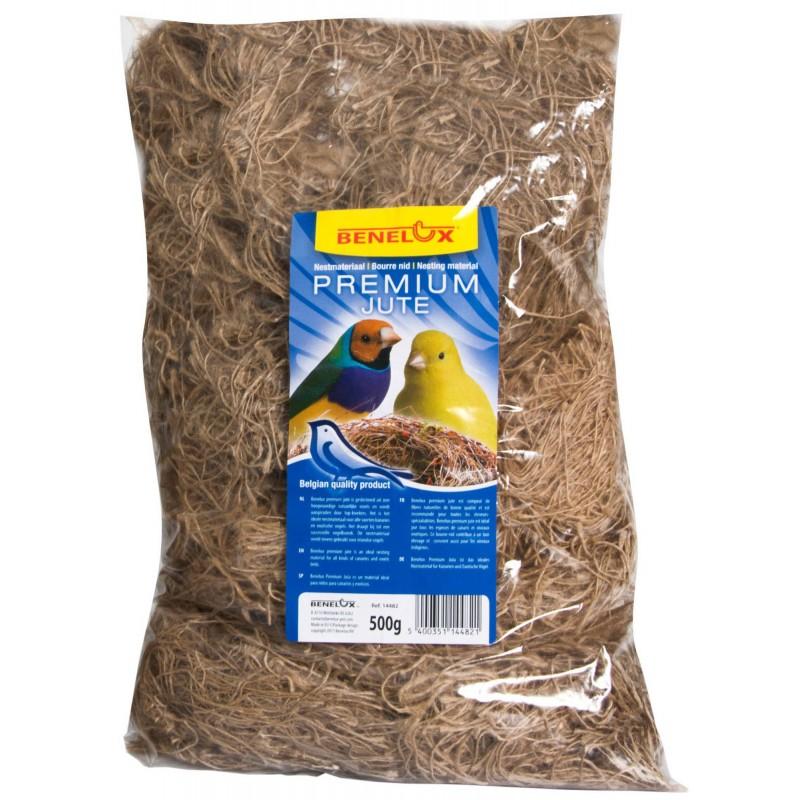 Floss Nest Jute 500gr 14482 Bevo 7,64 € Ornibird