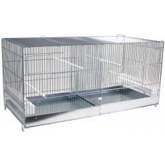 Cage Cova Metal 2 Compartments 90x40x45cm 1560057 Domus Molinari 85,15 € Ornibird