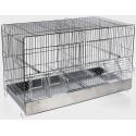 Cage Cova Metal 2 Compartments 55x32x37cm