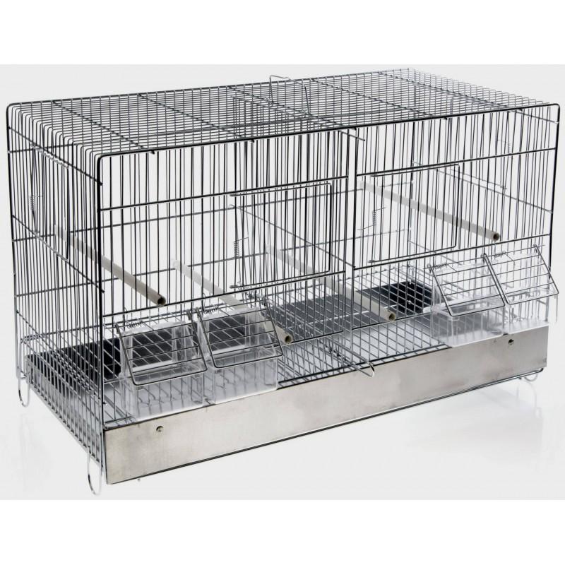 Cage Cova Metal 2 Compartments 55x32x37cm 1560056 Benelux 38,50 € Ornibird
