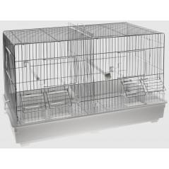 Cage Cova Chrome 55x32x36cm 1560036 Domus Molinari 40,21 € Ornibird