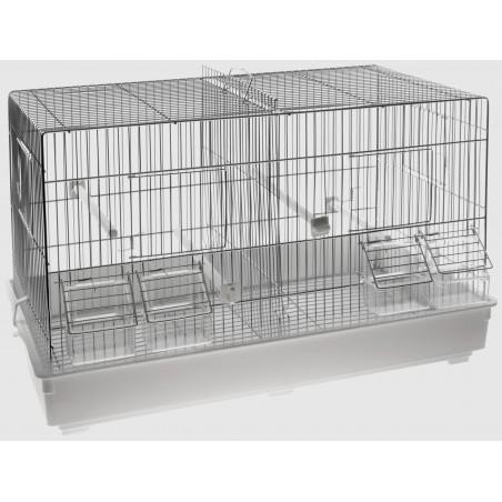 Cage Cova Chromée 55x32x36cm