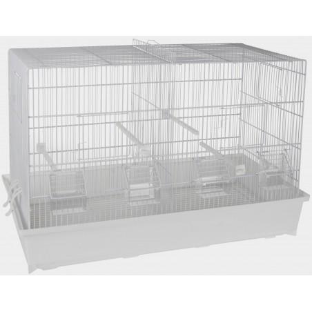 Cage Cova Blanc 65x34x43cm