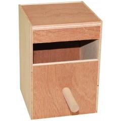 Nid en bois perruches 12,5x12x17cm 14508 Benelux 5,45 € Ornibird