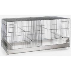 Cage Cova Métal 2 Compartiments 120x40x45 cm