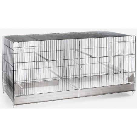 Cage Cova Metal 2 Compartments 120x40x45 cm 1560075 Benelux 98,25 € Ornibird