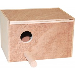 Nest of wood for exotic 16x10.5x11 cm 14504 Benelux 5,65 € Ornibird