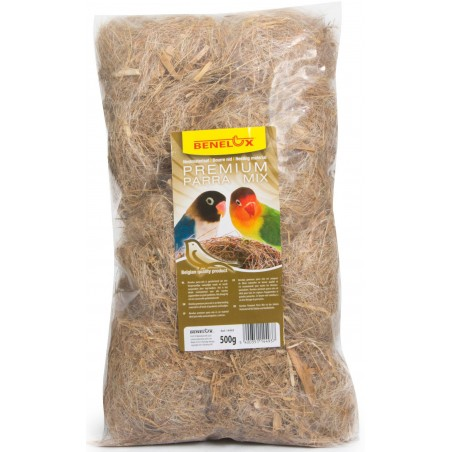 Floss nest Parra-Mix-Parakeets 500gr
