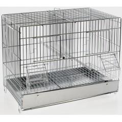 Cage Cova Metal 2 Compartments 42x25x31 cm