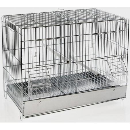 Cage Cova Métal 2 Compartiments 42x25x31 cm