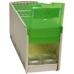 Cageot en plastique large 31x11,5x16h cm - 2G-R 14777 2G-R 14,64 € Ornibird