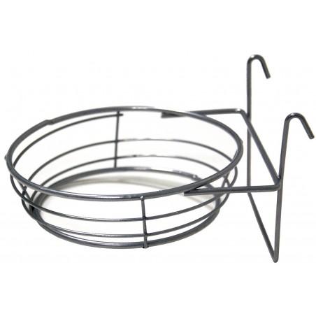Porte-nid en fer 4 anneaux