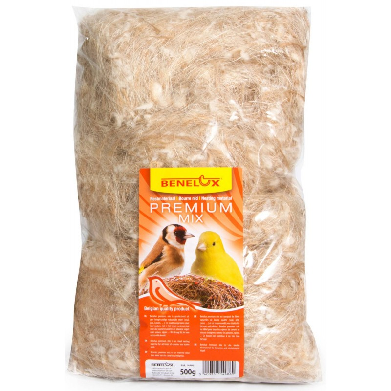 Wad nest Mix 500gr Coco - Sharpi - Sisal - Jute