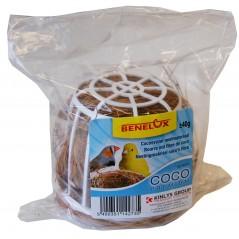 Bourre nid fibre de coco 40gr avec support 14273 Benelux 1,59 € Ornibird