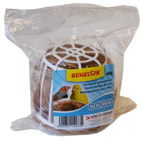 Fill nest with coconut fibre 40gr with support