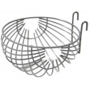 Nid en métal + crochets 10 cm