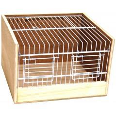 Cage de transport bois type Domino 25cm 14767 Benelux 17,71 € Ornibird