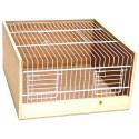 Cage de transport bois type Domino 35cm