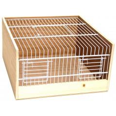 Cage de transport bois type Domino 35cm 14768 Benelux 19,59 € Ornibird