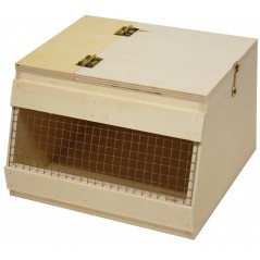 Box of transport for birds in wood-NR1 16cm 14793 Benelux 8,39 € Ornibird