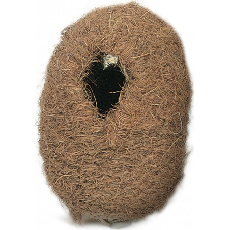 Nest wicker and coconut, to exotic 13x11x16cm