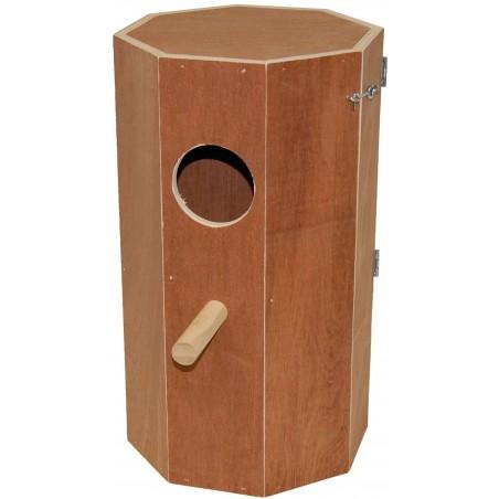 Nest hout grote parkieten 20x20x40cm