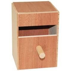 Nid en bois exotiques 11 x 10,5 x 6cm 14505 Benelux 4,96 € Ornibird