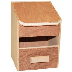 Nest in wood tits 14.5 x 14 x 16cm 14507 Benelux 5,03 € Ornibird