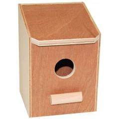 Nid en bois fermé mésanges 14,5 x 14 x 16cm 14506 Benelux 5,03 € Ornibird