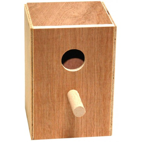 Nest exotic wood 11 x 10.5 x 16cm