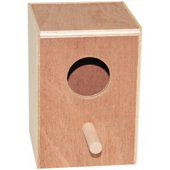 Nest in wood parakeets 12.5 x 12 x 17cm 14565 Benelux 6,25 € Ornibird