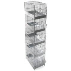 Cage Cova 5 floors 30x20x105cm