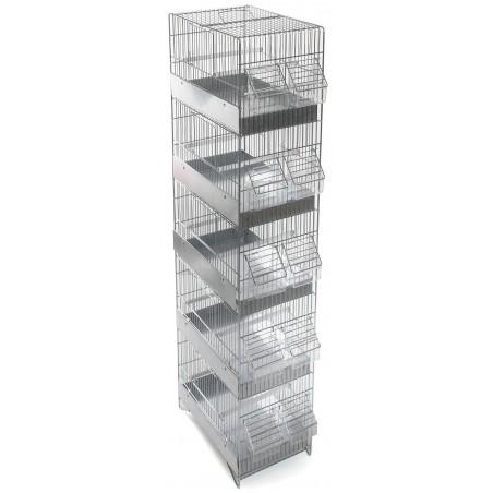 Cage Cova 5 floors 30x20x105cm 1560054 Domus Molinari 91,75 € Ornibird