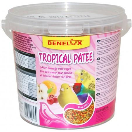 Patée tropical aux fruits 1,4kg Bevo - Benelux