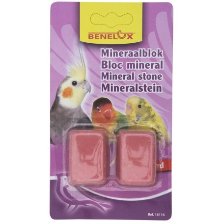 Block mineral for hooked beaks by 2 parts - Benelux
