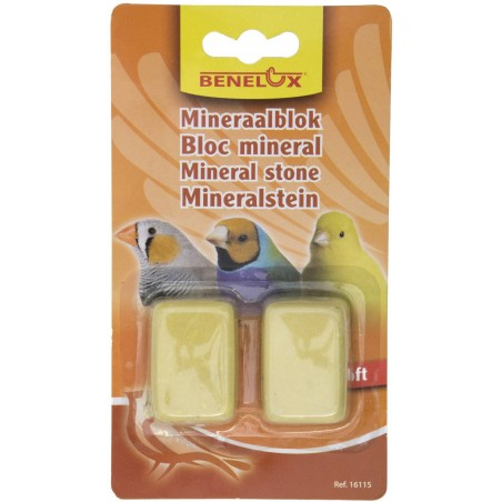 Block mineral for straight nose-by-2 pieces - Benelux