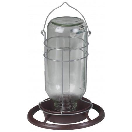 Mangeoire lampe de mineur en verre 1L - Benelux