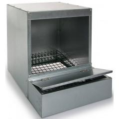 Trogolo semplice con vassoio raccoglitore in acciaio zincato - Benelux 24601 Benelux 36,72 € Ornibird