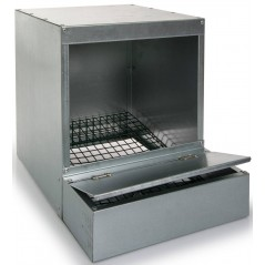 Trough simple with tray collector of galvanized steel - Benelux 24601 Benelux 36,72 € Ornibird