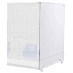 Cage d'élevage démontable en métal avec côtés en plastique 58x30x39cm - 2G-R 326/B 2G-R 54,95€ Ornibird