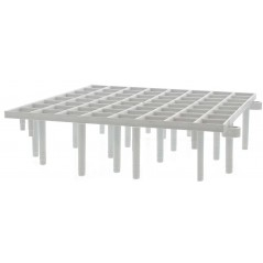 Slatted plastic 16 pieces of 25 x 25 x 6.8 cm 26125 Natural 23,46 € Ornibird