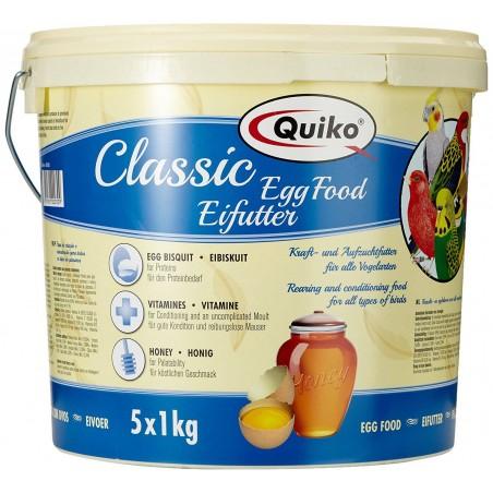Quiko Classic pâtée aux oeufs 5 kg