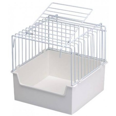 Cage baby or outdoor bathtub 15x15x16cm - S. T. A. Soluzioni