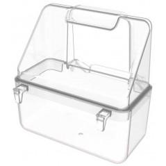 Mangeoire cage Italienne transparente avec crochets - 2G-R 232T 2G-R 0,53 € Ornibird