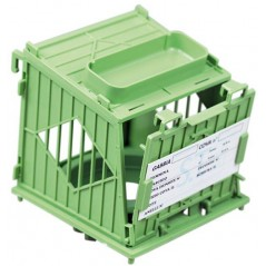 Nest box with nest plastic model Galileo - S. T. A. Soluzioni N002BG S.T.A. Soluzioni 5,00 € Ornibird