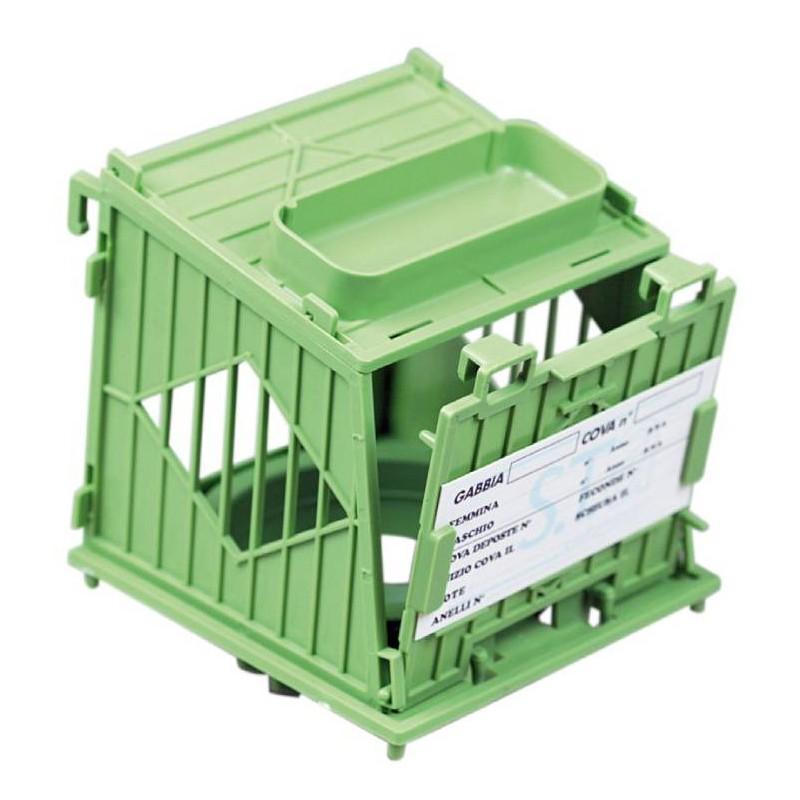 Nest box with nest plastic model Galileo - S. T. A. Soluzioni N002BG S.T.A. Soluzioni 5,00 € Ornibird